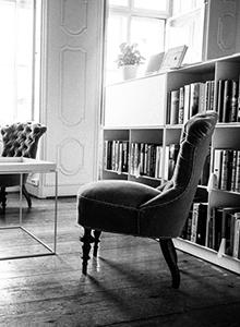Johan Borups Højskole København Forfatterlinjen Biblioteket