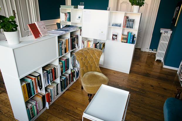 forfatterlinje bibliotek johan borups højskole