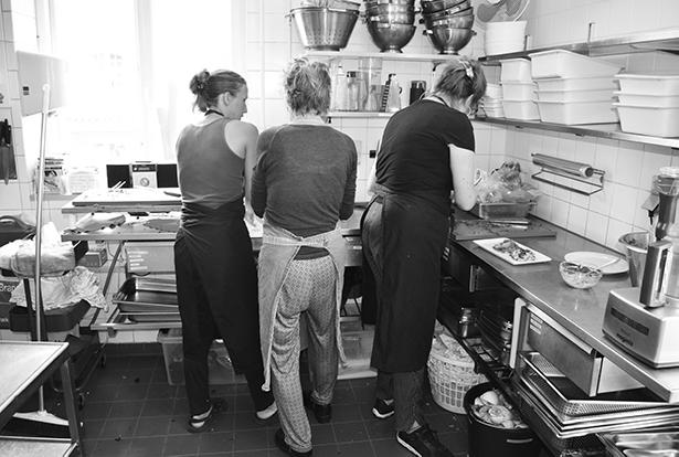 Køkken Johan Borups Højskole