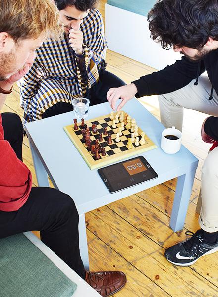 livet på skolen - skak - johan borups