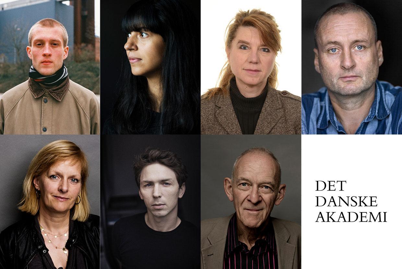 Jonas Eika, Lone Aburas, Marianne Stidsen, Thomas Boberg, Astrid Saalbach, Peder Frederik Jensen og Henrik Nordbrandt.