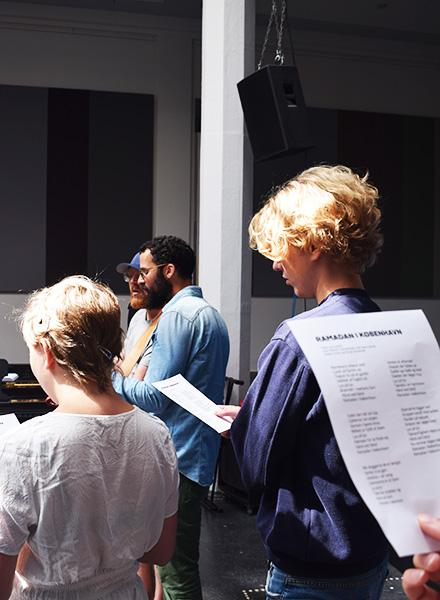 Johan Borups Højskole synger Ramadan i København