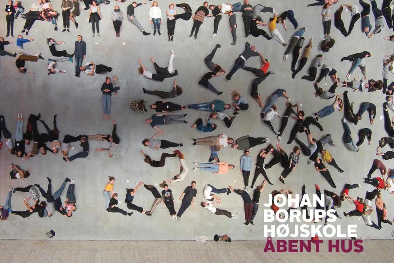 Åbent hus johan borups højskole københavn Fernisering, oplæsninger, visuals, live musik og film.