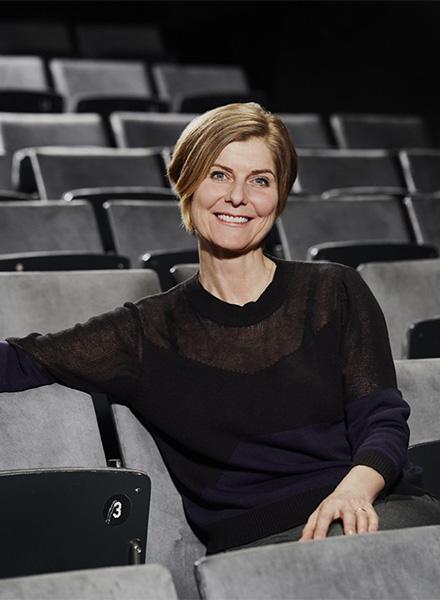 Kamilla Wargo, instruktør. Foto: Mikkel Russel Jensen Johan Borups Højskole teater og scenekunst