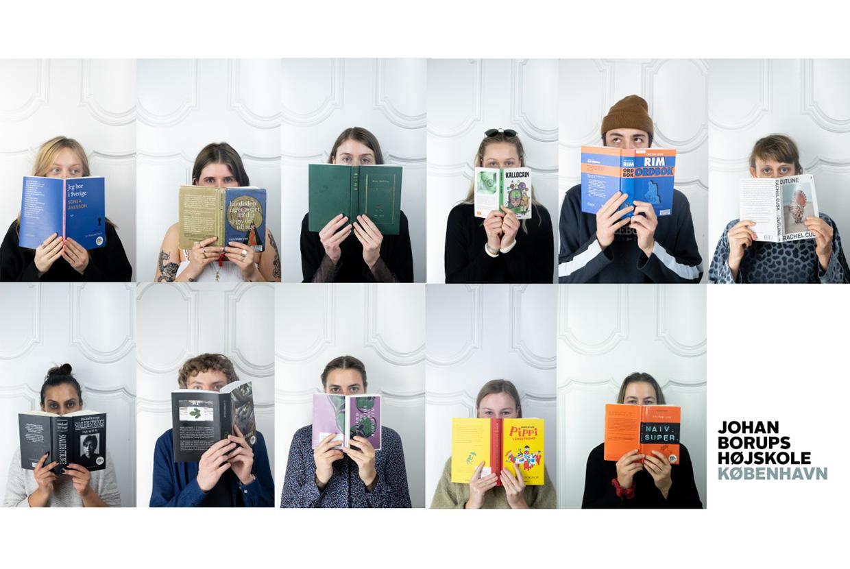 Forfatterelever Johan Borups Højskole afgang oplæsning