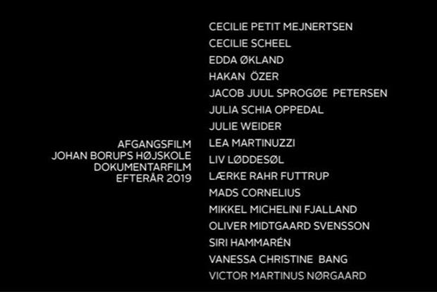 Dokumentarfilm premiere efterår 2019