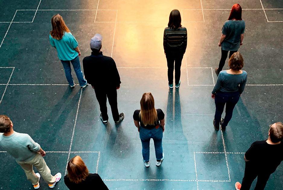 Johan Borups Højskole Teater & Scenekunstlinjen afgang efterår höst 2019