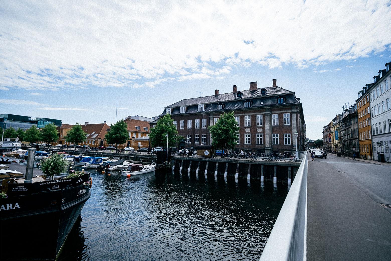 Johan Borups Højskole København forside