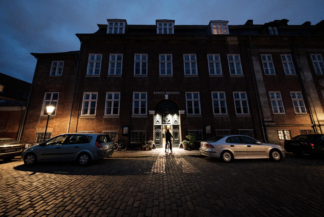 johan borups højskole kulturhus