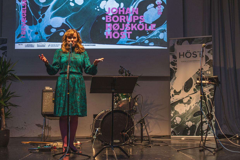 Elisabeth Skou Pedersen Johan Borups Højskole HÖST Nordisk Litteraturfestival
