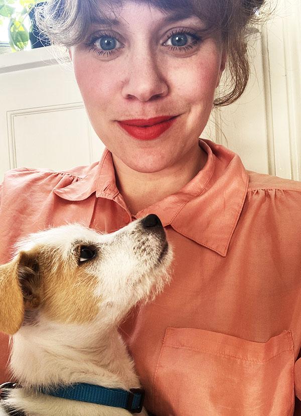 Elisabeth Skou Pedersen hund Alki Johan Borups Højkskole