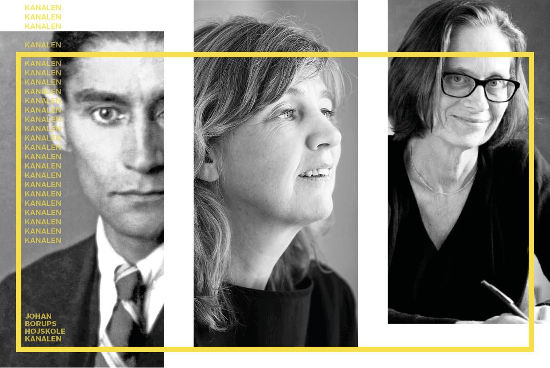 Forvirrede karakterer i fiktionen kanalen johan borups højskole Franz Kafka, Pia Juul, Lydia Davis