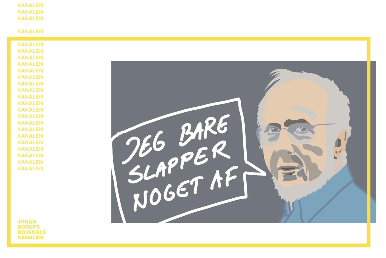 Per Højholt Illustration Jesper Sønderaas
