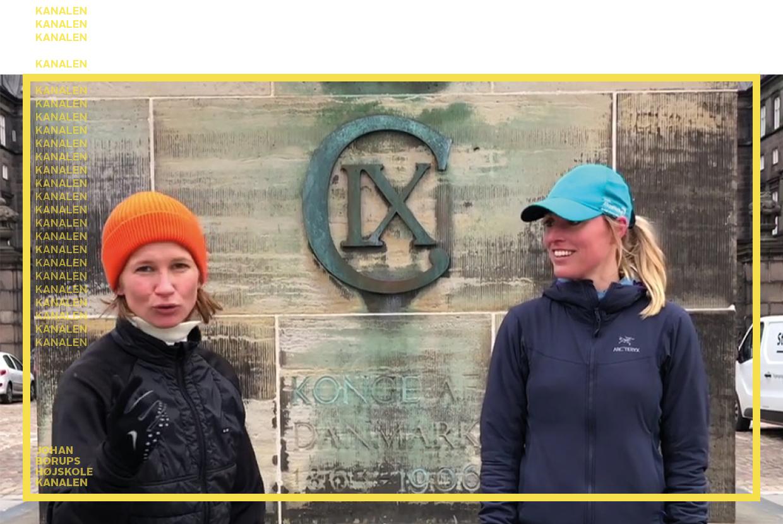 Nanna Leegaard og Julie Sass Urban Træning