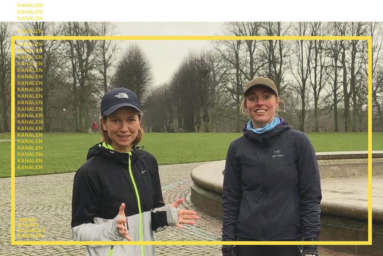 Julie Sass Nanna Legaard Urban Træning Johan Borups Højskole kanalen