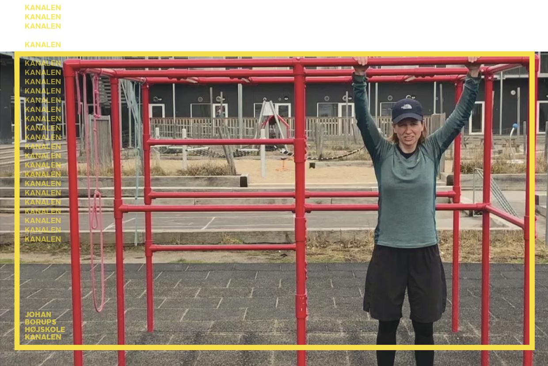 Julie Sass Urban Træning Banegaarden KANALEN Johan Borups Højskole