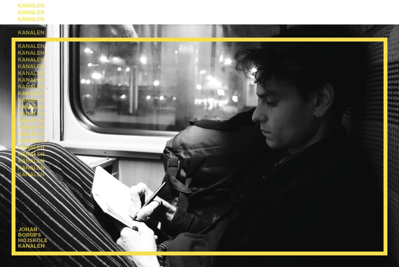 At indsamle historier rejsepodcast KANALEN Johan Borups Højskole