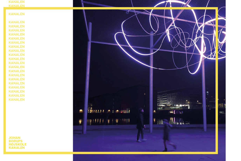 KANALEN signatur Ina Marie Ernø Jacobsen 'Pressure', Copenhagen Light Festival 2021